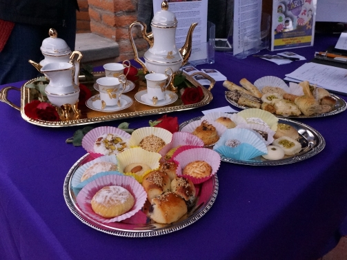 A sample of the offerings prepared by 20 bakers.